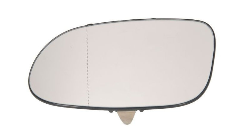 Sticla oglinda, oglinda retrovizoare exterioara MERCEDES A-CLASS (W168) (1997 - 2004) TYC 321-0002-1 piesa NOUA