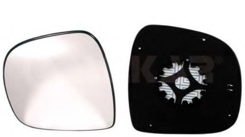 Sticla oglinda, oglinda retrovizoare exterioara MERCEDES VITO / MIXTO caroserie (W639) (2003 - 2016) ALKAR 6471969 piesa NOUA