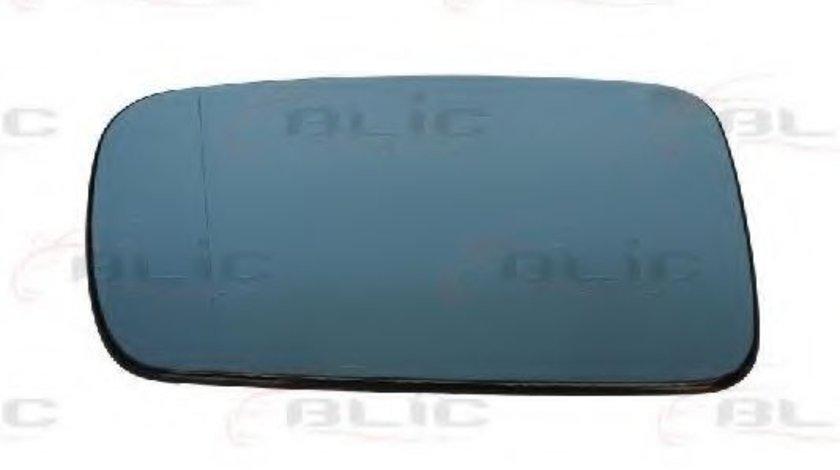 Sticla oglinda, oglinda retrovizoare exterioara BMW Seria 7 (E65, E66, E67) (2001 - 2009) BLIC 6102-02-1211522P piesa NOUA