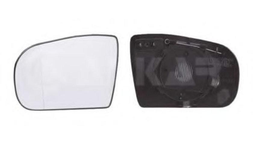 Sticla oglinda, oglinda retrovizoare exterioara MERCEDES E-CLASS (W210) (1995 - 2003) ALKAR 6423702 piesa NOUA
