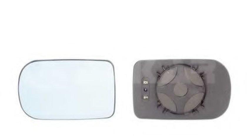 Sticla oglinda, oglinda retrovizoare exterioara BMW Seria 7 (E38) (1994 - 2001) ALKAR 6472844 piesa NOUA