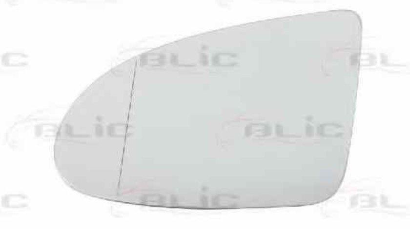 Sticla oglinda oglinda retrovizoare exterioara AUDI A2 8Z0 Producator BLIC 6102-02-1271791P