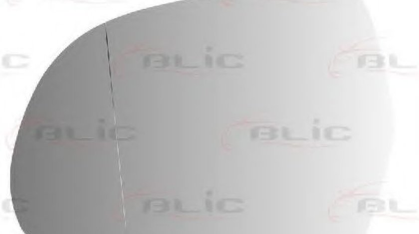 Sticla oglinda, oglinda retrovizoare exterioara AUDI Q3 (8U) (2011 - 2016) BLIC 6102-02-1232593P produs NOU