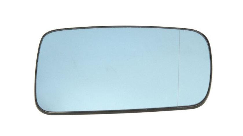 Sticla oglinda, oglinda retrovizoare exterioara BMW Seria 7 (E65, E66, E67) (2001 - 2009) TYC 303-0127-1 piesa NOUA