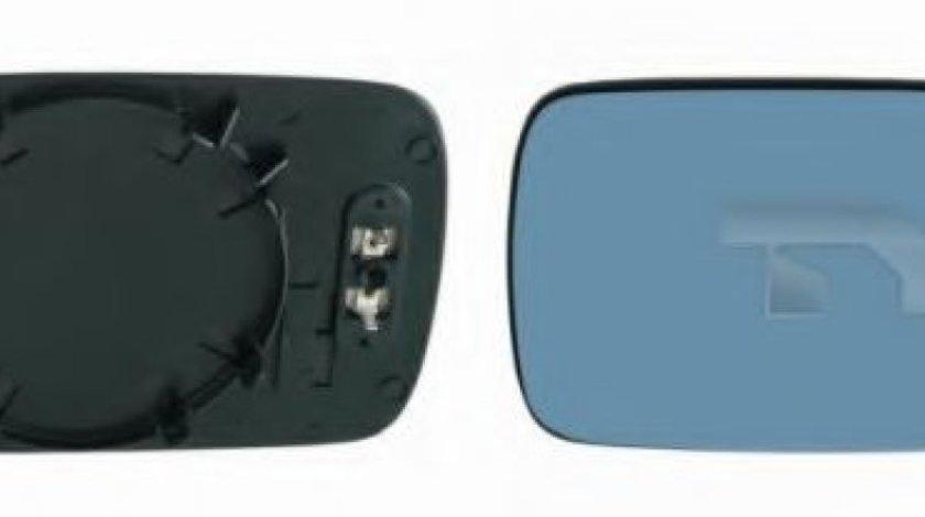 Sticla oglinda, oglinda retrovizoare exterioara BMW Seria 3 (E46) (1998 - 2005) TYC 303-0063-1 piesa NOUA