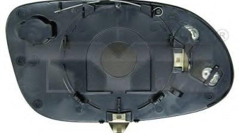 Sticla oglinda, oglinda retrovizoare exterioara MERCEDES A-CLASS (W168) (1997 - 2004) TYC 321-0005-1 piesa NOUA