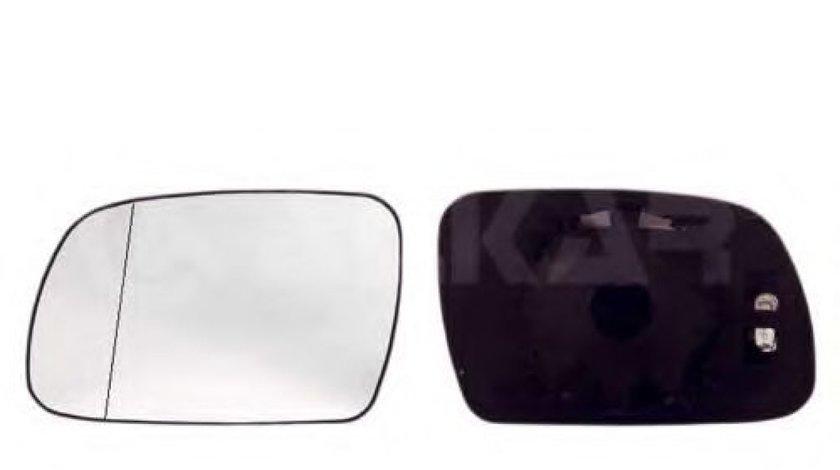 Sticla oglinda, oglinda retrovizoare exterioara PEUGEOT 307 (3A/C) (2000 - 2016) ALKAR 6471307 produs NOU