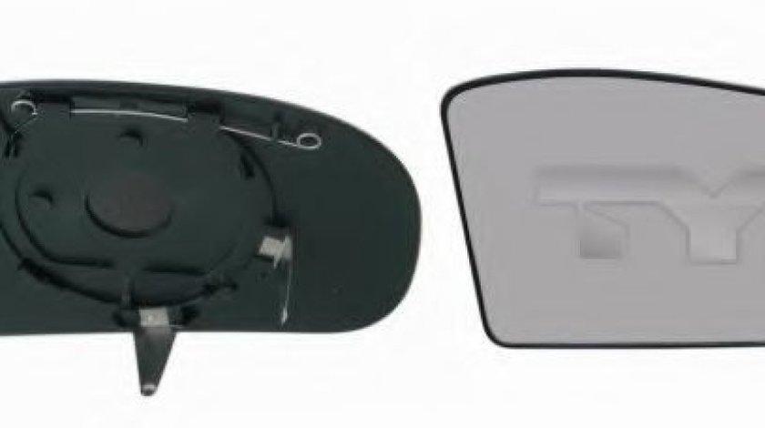 Sticla oglinda, oglinda retrovizoare exterioara MERCEDES E-CLASS (W211) (2002 - 2009) TYC 321-0059-1 piesa NOUA