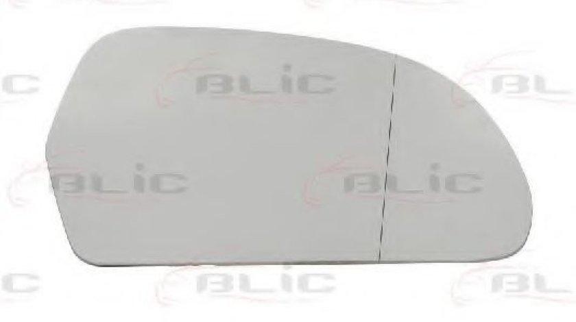 Sticla oglinda, oglinda retrovizoare exterioara AUDI Q3 (8U) (2011 - 2016) BLIC 6102-43-006370P piesa NOUA