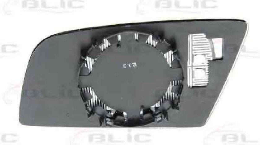 Sticla oglinda oglinda retrovizoare exterioara BMW 5 E60 BLIC 6102-02-1272825P