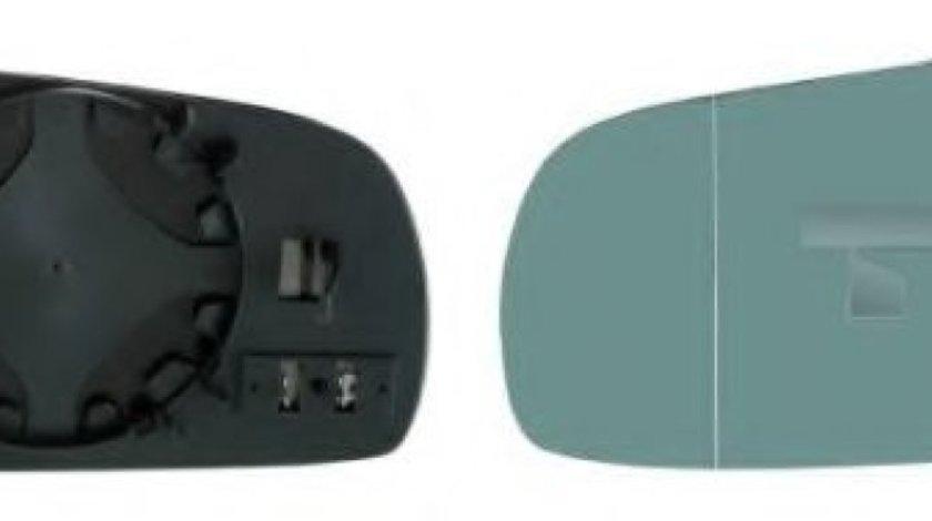 Sticla oglinda, oglinda retrovizoare exterioara AUDI A6 (4A, C4) (1994 - 1997) TYC 302-0012-1 piesa NOUA