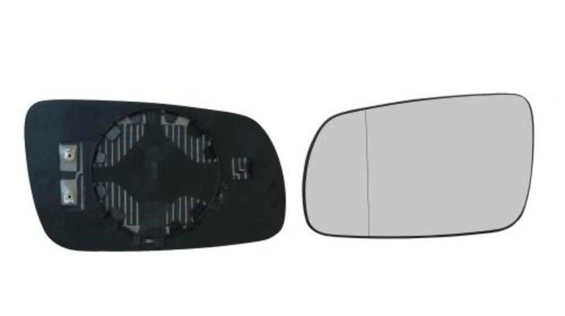Sticla oglinda Skoda Octavia 1 (1u2/1u5) 1997-2010 , Superb 2002-2005 stanga asferica sticla crom cu incalzire Kft Auto