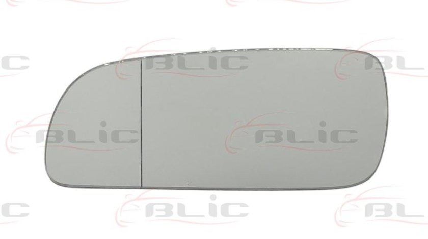Sticla oglinda stanga AUDI 4(8D2,B5) producator:BLIC