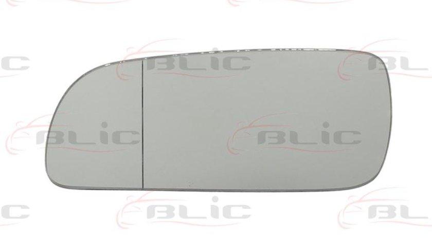 Sticla oglinda stnga AUDI A4AVANT(8D5,B5) producator:BLIC