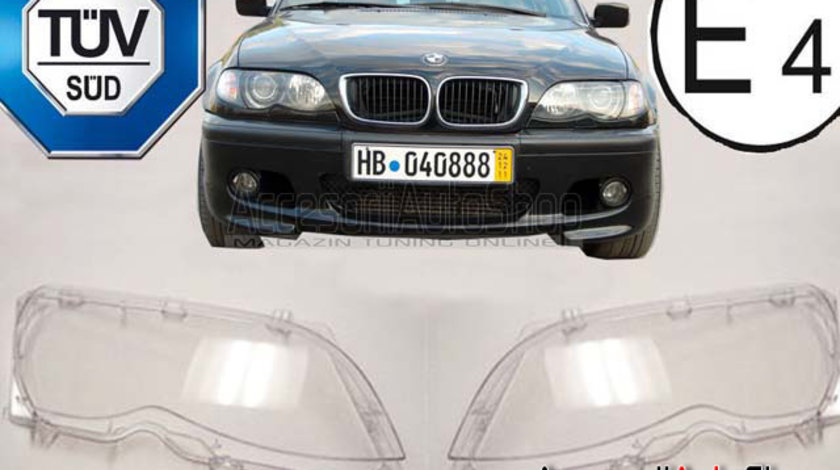 Sticle Far BMW Seria 3 E46 4USI 2002-2005 Facelift