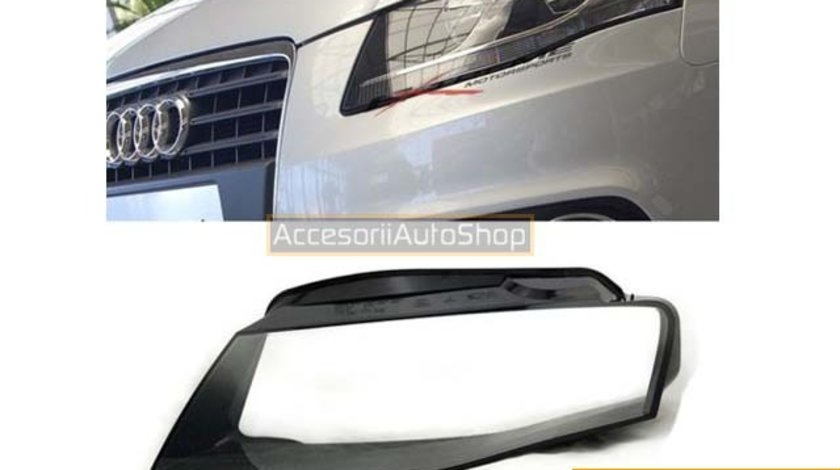 Sticle faruri AUDI A4 B8 2008-2012