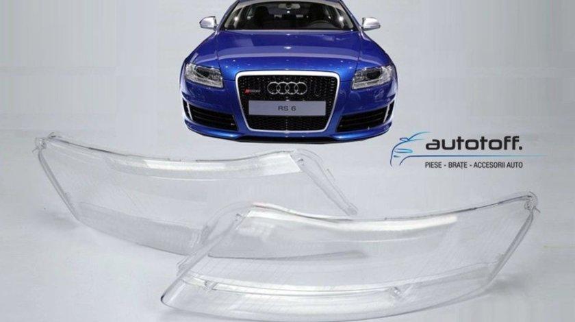 Sticle faruri Audi A6 C6 4F (2005-2011)