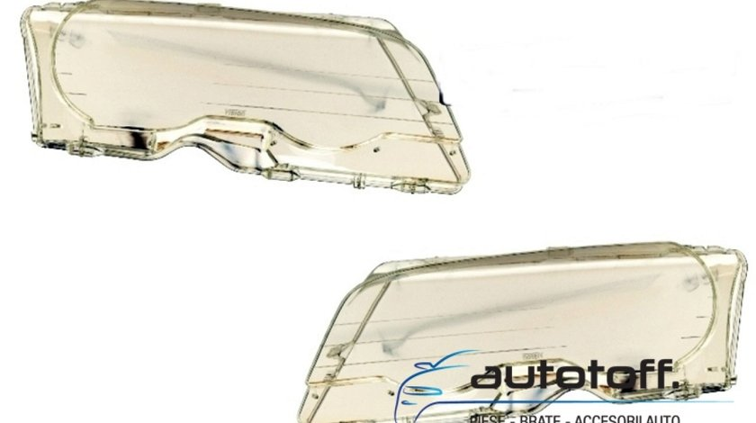 Sticle faruri BMW Seria 3 E46 (1998-2001)