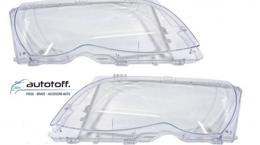 Sticle faruri BMW Seria 3 E46 (2001-2004) Facelift