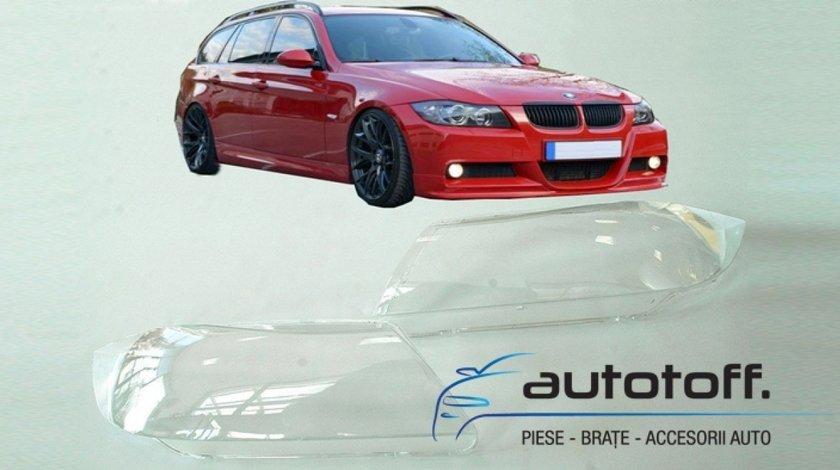 Sticle faruri BMW Seria 3 E90, E91 (2005-2009)