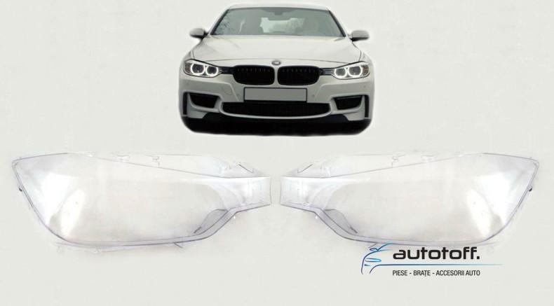 Sticle faruri BMW Seria 3 F30 (2011-2014)