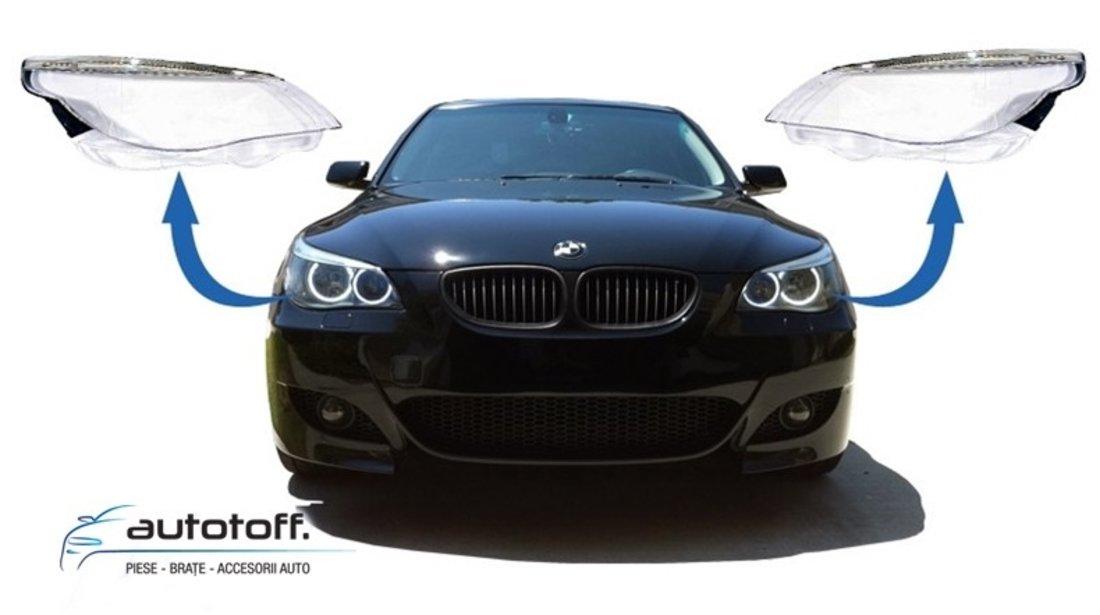 Sticle faruri BMW Seria 5 E60 (2003-2007)