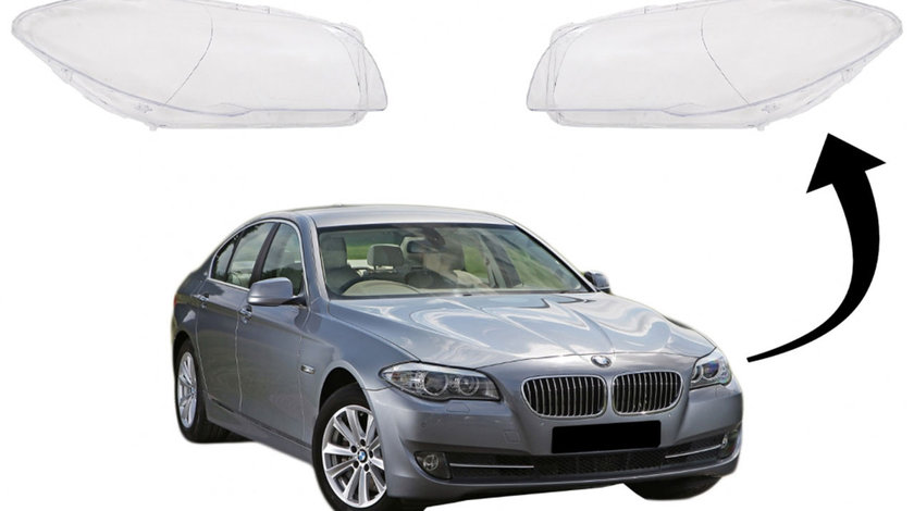 Sticle faruri BMW Seria 5 F10 (10-17)