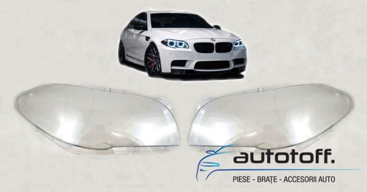 Sticle faruri BMW Seria 5 F10, F11 (2010-2014)
