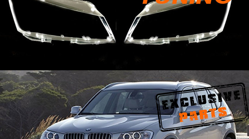 Sticle faruri BMW X3 F25 (2012-2013)