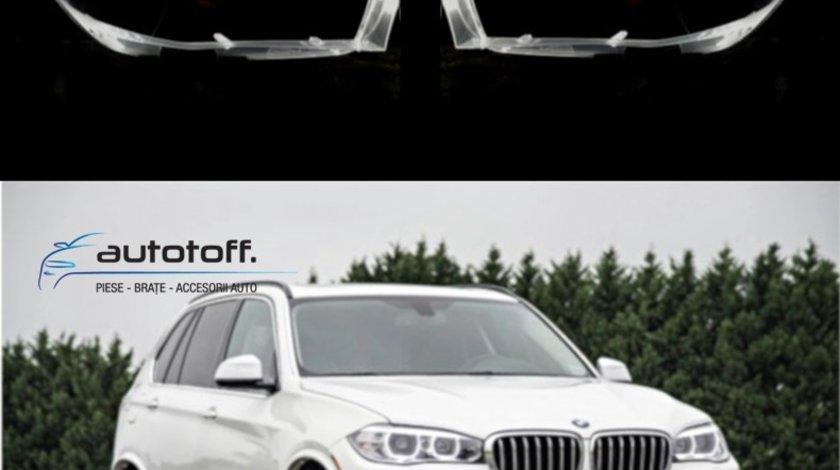 Sticle faruri BMW X5 F15 (2013-2018)