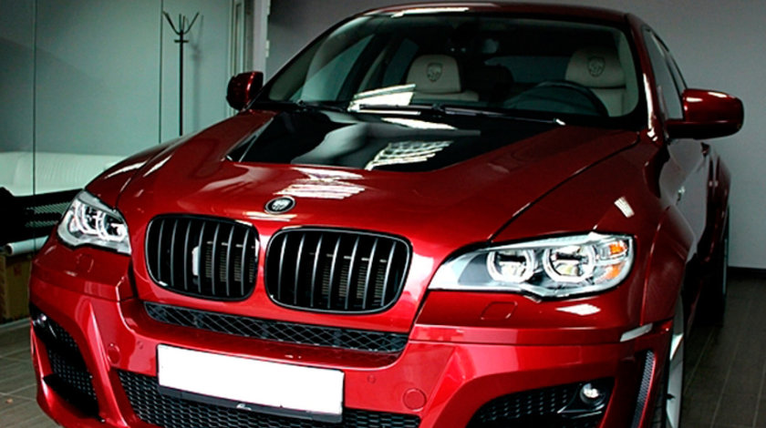 Sticle faruri BMW X6 E71 (08-15)