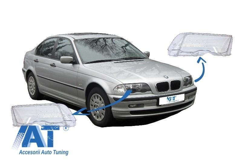 Sticle Faruri compatibil cu BMW Seria 3 E46 (1998-2001) Pre Facelift
