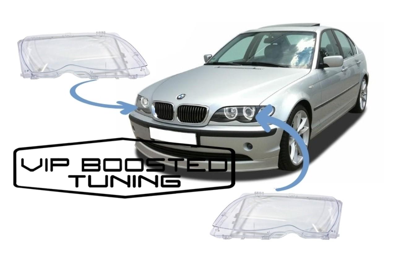 Sticle Faruri compatibil cu BMW Seria 3 E46 (2001-2004) Facelift