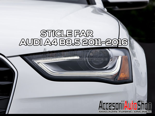 Sticle faruri Geam AUDI A4 B8.5 2011-2016