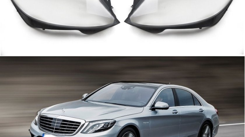 Sticle faruri Mercedes Benz S-Class W222 (2013-2017)