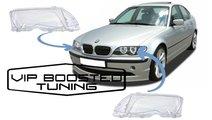 Sticle sticla Faruri far DEPO +garnituri BMW Seria...