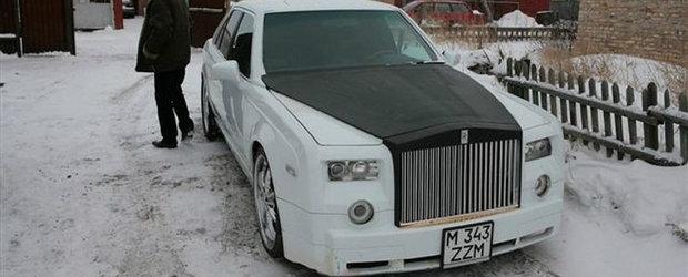 Stim ca e greu de crezut dar niste kazahi au inventat Rolls-Royce-ul E-Class. Ce parere aveti?
