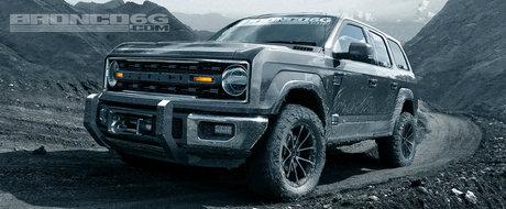Stim sigur ca Ford Bronco se intoarce, insa ce-ai zice daca ar arata asa?