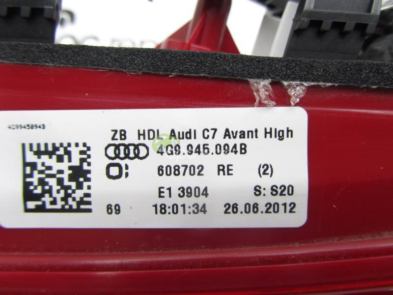 Stop dreapta led haion Audi A6 4G Kombi Original cod 4G9945094B