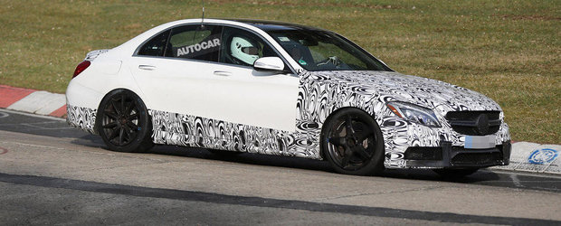 Stop Joc: Mercedes anunta cifrele si numerele noului C63 AMG