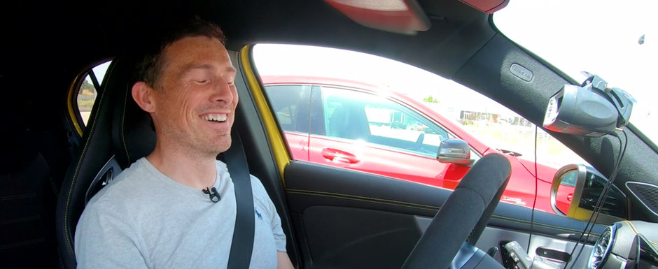 STOP JOC. Noul Mercedes A45 AMG face suta in doar 3.9 secunde. VIDEO ca sa te convingi si singur