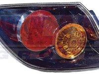 Stop lampa spate exterior negru 5 usi MAZDA 3 pana la 2007