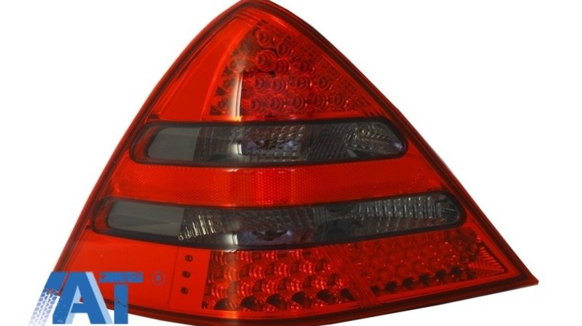 Stop LED compatibil cu MERCEDES Benz SLK R170 (2000-2004) Rosu