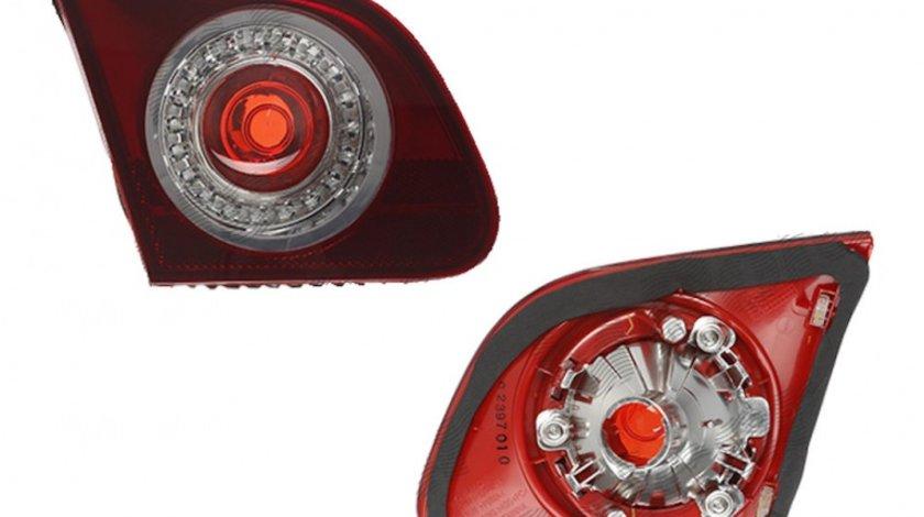 Stop spate lampa Vw Passat (B6 (3c)), 01.2005-07.2010 Sedan Model R36, spate, omologare ECE, fara suport bec, interior, fumuriu, 3C5945093J, Stanga Kft Auto