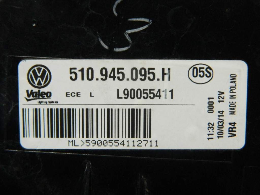 Stop stanga caroserie VW Sportsvan cod: 510945095H