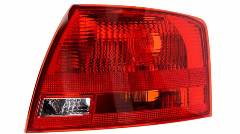 Stop tripla lampa spate dreapta ( exterior , semnalizator rosu, culoare sticla: rosu) AUDI A4 LIMUZINA 2004-2008