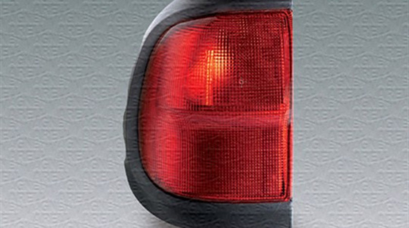 Stop tripla lampa spate dreapta (semnalizator rosu, culoare sticla: rosu) NISSAN TERRANO 1999-2007