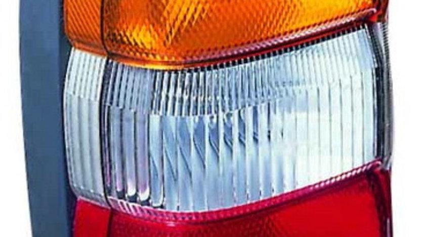 Stop tripla lampa spate dreapta (semnalizator portocaliu, culoare sticla: rosu) NISSAN PATROL OFF-ROAD 1997-2003