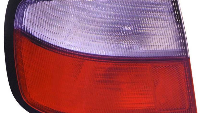 Stop tripla lampa spate stanga ( exterior , semnalizator alb, culoare sticla: rosu) NISSAN PRIMERA LIMUZINA 4D dupa 1996-1999