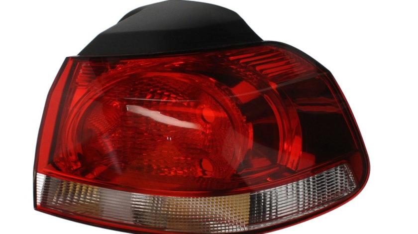 Stop tripla lampa spate stanga ( exterior , semnalizator alb, culoare sticla: rosu) VW GOLF HATCHBACK 2008-2013